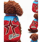 Hund Sweatshirt Hundetøj Afslappet/Hverdag Britisk Gul Rød