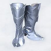 Zapatos de Cosplay Botas Cosplay Cosplay Cosplay Animé Zapatos de cosplay Cuero Cuero Sintético/Cuero de Poliuretano Cuero PU Adulto