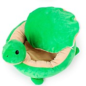 犬 ベッド ペット用 マット/パッド 動物 ウォーム 高通気性 ソフト 洗濯可 グリーン