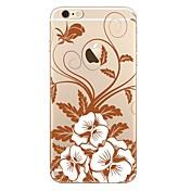 ケースfor iphone 7 7 plus flowerパターンtpuソフトカバーiphone 6 plus 6s plus iphone 5 se 5s 5c 4s