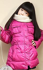 Chunyazi Elegante Solid Color Padded Coat (Fuchsia)