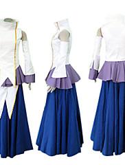 Gundam Seed lacus Clyne cosplay kostým