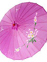 パープル♥シルク日傘