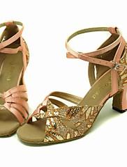 šumivé třpytky / satén horní taneční boty taneční sál latin boty pro ženy více barev