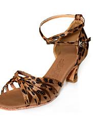 tkanina gornji plesne cipele plesna latinski cipele za žene više boja