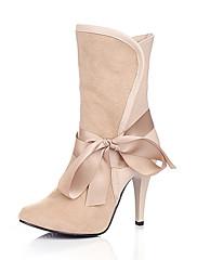 antilop gornji Stiletto peta Gležnjače s Bowknot vjenčanje svadba / party cipele cipele više boja dostupnih