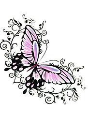 5 ks motýl vodotěsný dočasné tetování (6 cm * 6 cm)