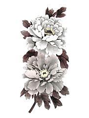 5 ks květina vodotěsný dočasné tetování (19 cm * 9 cm)