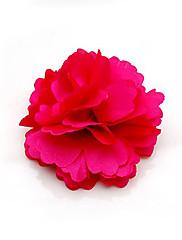 květiny Elegantní saténová dámská / přílba (více barev)