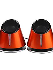 bas, vysoce kvalitní mini-usb stereo reproduktory počítače
