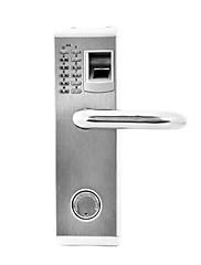 デッドボルトと3-in-1のバイオメトリック指紋とパスワードドアロック(右利き)