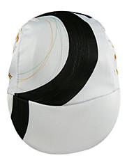 Cyklistika Caps Pánské Jezdit na kole Rychleschnoucí 100% polyester Bílá / Černá Zdarma Velikost Cyklistika