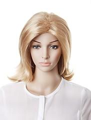 Capless Fashion Long Blonde Wavy Hair Wig