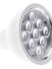MR16 3w 9x2835 smd 240-270lm 6000-6500K přirozené bílé světlo LED Spot žárovka (12V)