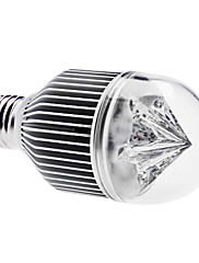 E27 5w 400-450lm 6000-6500K přírodní bílá světla vedl míč žárovka (85-265V)