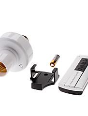 E27 360-stupeň bezdrátové dálkové ovládání LED žárovky objímka (110-220v)