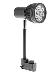 7w 600-660lm 3000-3500K teplá bílá světla vedl track lampa (85-265V)