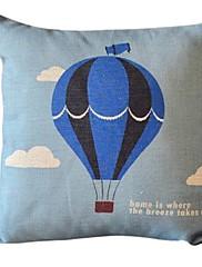 フライングホームコットン/リネン装飾枕カバー