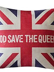 神はqueekコットン/リネン装飾枕カバーを保存