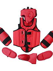 5ks červené pu a gumové taekwondo boxerské ochranné kola