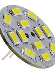 6W G4 LED bodovky 12 SMD 5730 570 lm Přirozená bílá DC 12 V