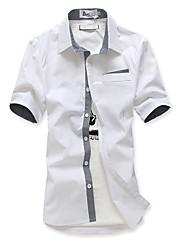 slim pánské tričko s kontrastním zavření