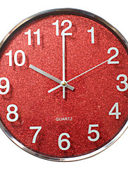 """12 """"h moderní nerezové oceli nástěnné hodiny"""