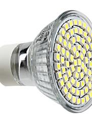 GU10 3.5ワット80x3528smd 300LM 6000-6500k自然な白色光は、スポット電球(220〜240)を導いた