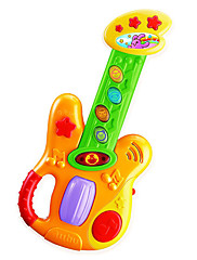 (Dětský kytara hračka) Elektronická klávesnice Elektronická kytara s popruhem