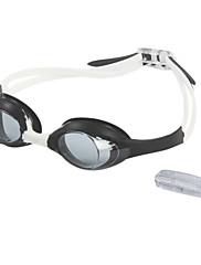 Unisex Anti-Fog a UV ochranné brýle povlak Plavání s špunt do RH1300 (Assorted Color)