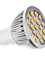 3W GU10 LED bodovky MR16 21 SMD 5050 240 lm Teplá bílá AC 110-130 / AC 220-240 V