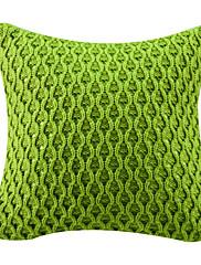 """12 """"スクエアエレガントな波パターンアクリル装飾的な枕カバー"""