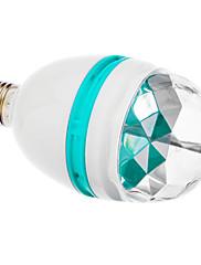 Zvuk Actived E27 3W RGB LED Full Color Rotační lampa Stage strany (85-260V)