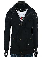 Muška Dugi rukav Button Slobodno vrijeme Sport Cotton Jacket (Izabrane boja)