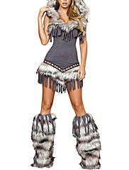 Halloween Girl Furry světle fialová Dámské kostýmy
