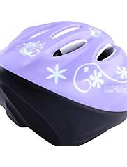 MOONキッズパープル·バタフライのPC保護スケート/サイクリングヘルメット
