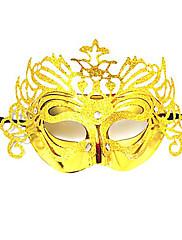Karneval Masquerade Party Mask Venice královna třpytky Golden Dámské