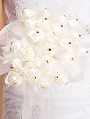 Bouquet de mariée en tulle et strass