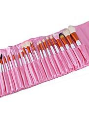 20 ks Kosmetické Makeup Brusher Pink Brush Set S Bag Case 968