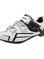 Tiebao ロードバイクシューズ サイクリングシューズ 男性用 女性用 男女兼用 アンチスリップ 速乾性 通気性 屋外 練習 マウンテンバイク ロードバイク PVCレザー 通気性メッシュ サイクリング レジャースポーツ