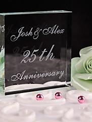 ケーキトッパー あり クリスタル 結婚式 / 記念日 / ブライダルシャワー / ベビーシャワー / 成人式 / 誕生日 ホワイト フローラルテーマ / クラシックテーマ ギフトボックス
