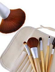 Nový 5 ks Země-Friendly Bamboo Propracovaný make-up štětec Soupravy 19080
