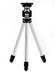デジタルカメラ用Fotopro FY - 683ステンレス鋼引き込み式ポータブル三脚(ホワイト)