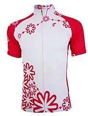 Getmoving ® Dámský prodyšný polyester krátký rukáv cyklistický dres
