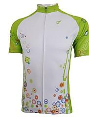 Getmoving ® Dámské polyester a spandex krátký rukáv cyklistický dres