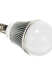 E14 5W 5730SMD 400LM 6000K Cool White Light LED žarulja Globe (AC 85-265V)