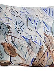 国はコットン/リネン装飾枕カバーの葉