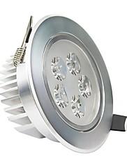 ロハス®タイプ2 5W 2800K-3200K 400LM 5-LEDコールドホワイトライト天井ランプドライバ/ W  - シルバー(AC 85〜265V)