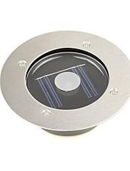 venkovní bílý solární nerezové oceli 1 vedl cihlový kruhový palubky světla zemní svítidlo