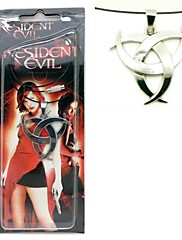 Resident Evil slitina stříbra cosplay náhrdelník